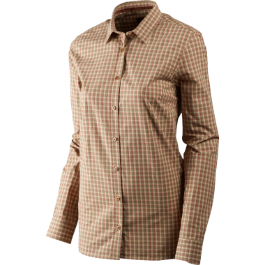 Selja Lady L/S check shirt